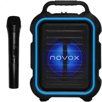 Power audio NOVOX Mobilite Czarno-niebieski