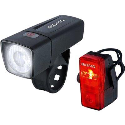 Zestaw lampek rowerowych SIGMA Aura 25 + Cubic Electro 555284