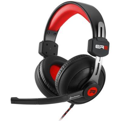 Słuchawki SHARKOON Rush ER2 Czerwony Electro 557817