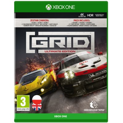 Grid – Ultimate Edition Gra XBOX ONE Electro 555872