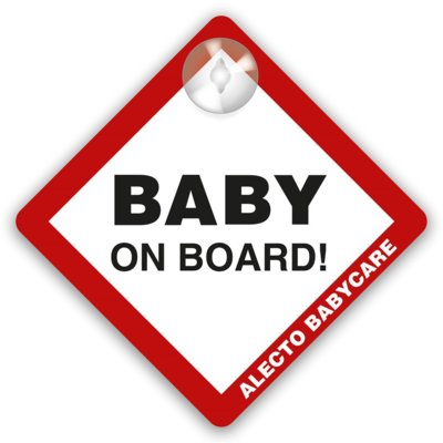 Naklejka ALECTO Baby on Board BV-17 Electro 557396