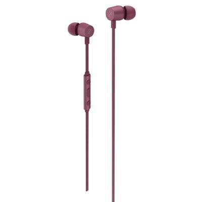 Słuchawki dokanałowe KYGO E2/400 Burgundowy Electro 556906