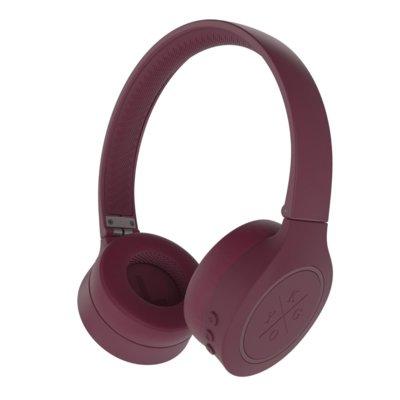 Słuchawki nauszne KYGO A4/300 BT OnEar Burgundowy Electro 556891