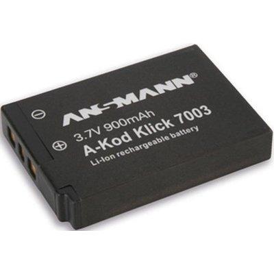 Akumulator ANSMANN 900 mAh do Kodak A-Kod Klic 7003 Electro 923198