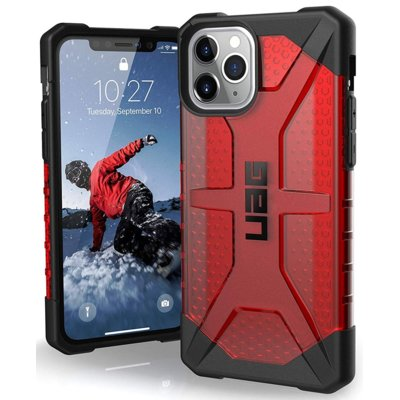 Etui UAG Plasma do Apple iPhone 11 Pro Czerwony Electro 557181