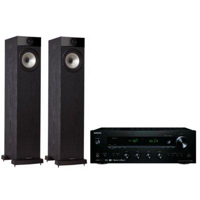 Kino domowe ONKYO TX-8250B + FYNE AUDIO F302 Czarny Electro 556820