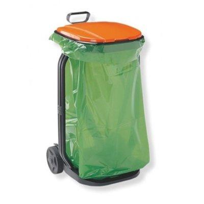 Pojemnik na śmieci GF 5770 100 l Pomarańczowy Electro 653356