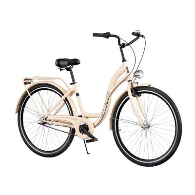 Rower miejski DAWSTAR Citybike S3B Cappucino Electro 557300
