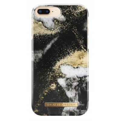 Etui IDEAL OF SWEDEN Black Galaxy Marble do Apple iPhone 6/6S/7/8 Plus Electro 559570