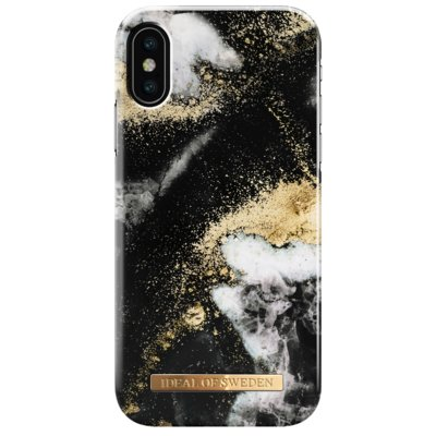 Etui IDEAL OF SWEDEN Black Galaxy Marble do Apple iPhone X/Xs Electro 559581
