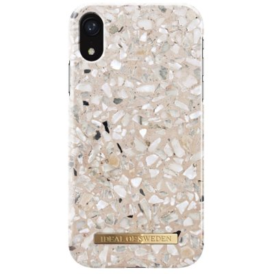 Etui IDEAL OF SWEDEN Greige Terazzo do Apple iPhone Xr Electro 559587