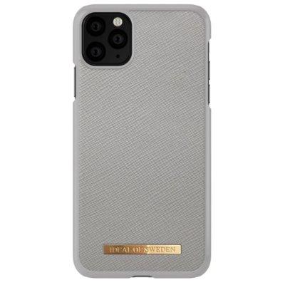 Etui IDEAL OF SWEDEN Saffiano Light Grey do Apple iPhone 11 Pro Max Electro 559611