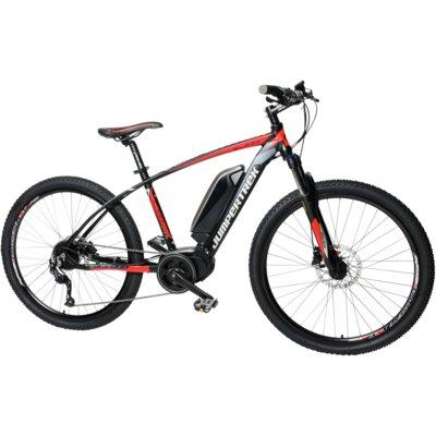 Rower elektryczny CINZIA Sleek BF 27.5 M18 Czerwono-czarny Electro 557960