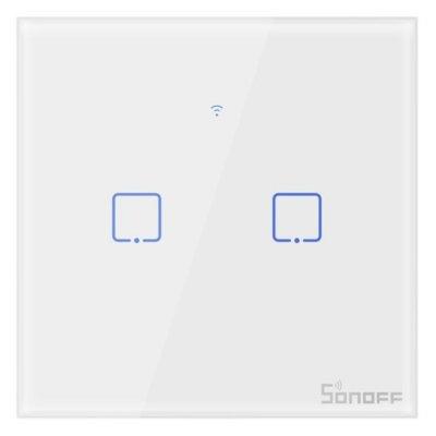 Włącznik światła SONOFF T0 EU TX (2-kanałowy) Electro 558537