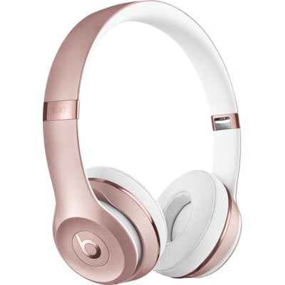 Słuchawki nauszne BEATS BY DR. DRE Solo 3 Wireless Różowo-złoty Electro 558806