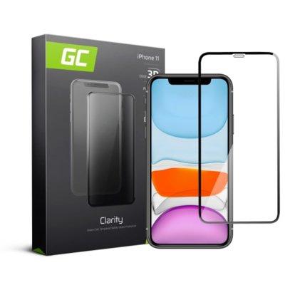 Szkło hartowane GREEN CELL GC Clarity do Apple iPhone 11 Czarny Electro 560231
