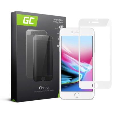 Szkło hartowane GREEN CEEL GC Clarity do Apple iPhone 7 Plus/8 Plus Biały Electro 560227