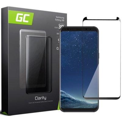 Szkło hartowane GREEN CEEL GC Clarity do Samsung Galaxy S8 Czarny