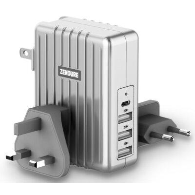 Ładowarka ZENDURE 4-USB 45W Srebrny