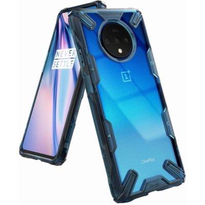 Etui RINGKE Fusion X do OnePlus 7T Przezroczysto-niebieski Electro 560841
