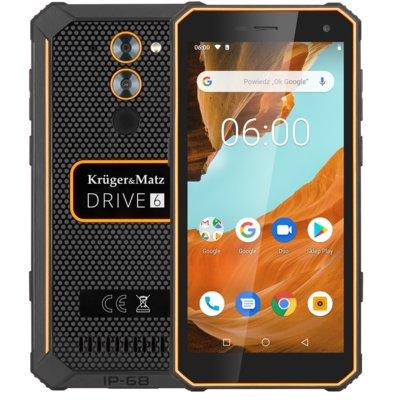 Smartfon KRUGER&MATZ Drive 6 Czarny Electro 561000