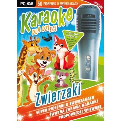 Karaoke dla dzieci: Zwierzaki + Mikrofon Gra PC Electro 561052