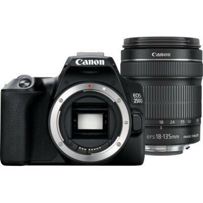 Aparat CANON EOS 250D + Obiektyw EF-S 18-135 mm f/3.5-5.6 IS STM