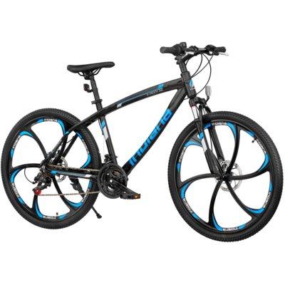 Rower górski MTB INDIANA X-Rock 3.6 Czarno-niebieski Electro 561241