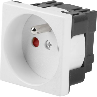 Gniazdo LANBERG AC-4545-E-W Electro e1247886