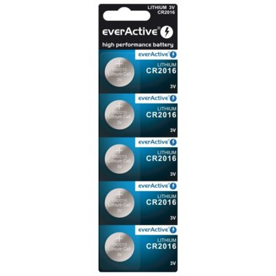 Baterie DL CR2016 EVERACTIVE (5 szt.) Electro 562127
