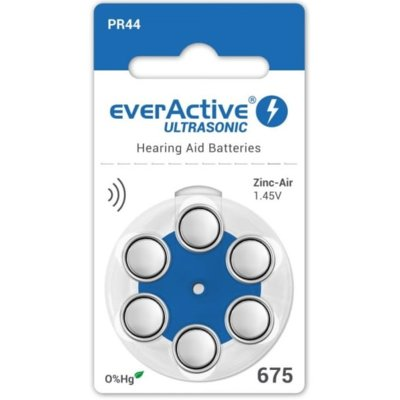Baterie PR44 EVERACTIVE Ultrasonic 675 (6 szt.) Electro 562125