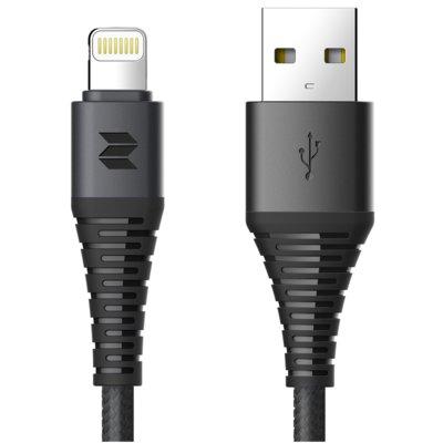Kabel USB – Lightning ROCK SPACE Z8 Czarny Electro 973783