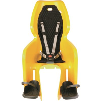 Fotelik rowerowy BELLELLI Lotus Clamp Żółty Electro 562612