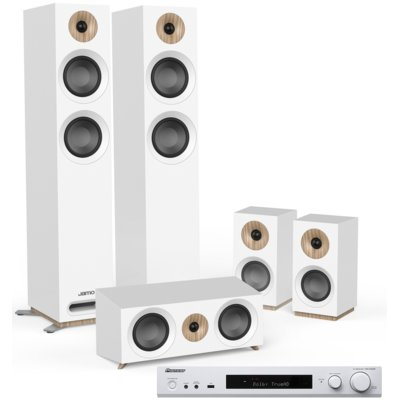 Kino domowe PIONEER VSX-S520D-W + JAMO S 807 HCS Biały Electro 562701