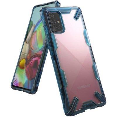 Etui RINGKE Fusion X do Samsung Galaxy A71 Niebieski Electro 562713