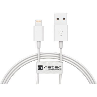 Kabel USB – Lightning NATEC NKA-1535 1.5 m Biały Electro 953229