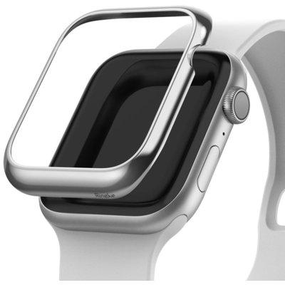 Etui RINGKE Bezel Styling do Apple Watch (40 mm) Srebrny Electro 562879