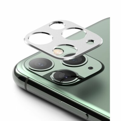 Nakładka na obiektyw RINGKE Camera Styling do Apple iPhone 11 Pro Srebrny