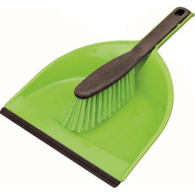 Zmiotka z szufelką YORK Clip Azur Zielony