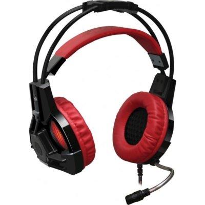 Słuchawki DEFENDER Lester Czarno-czerwony Electro 306324