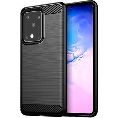 Etui WINNER GROUP Carbon do Samsung Galaxy S20 Ultra Czarny Electro 563994