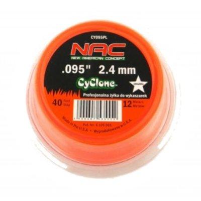 Żyłka tnąca NAC O-TR-CY095PL 2.4 mm x 12 m Electro 155669