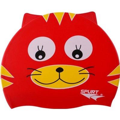 Czepek FONTI Cat Czerwony Electro e1257561