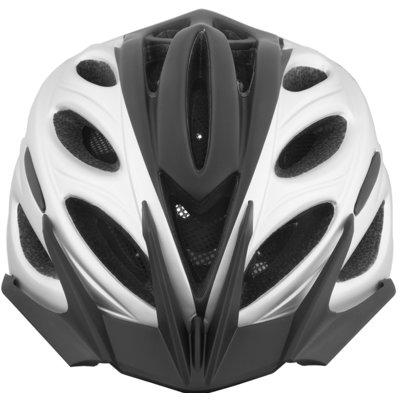 Kask rowerowy VÖGEL VKA-925SV Czarno-srebrny Miejski (rozmiar M/L) Electro 675127