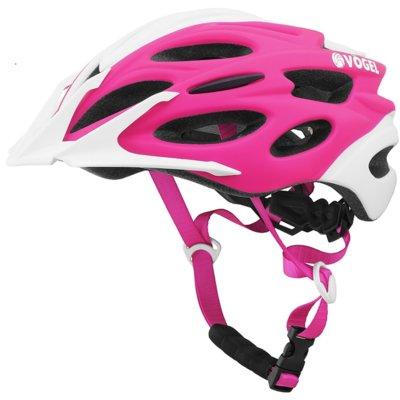 Kask rowerowy VÖGEL VKA 925P Różowo-biały dla Dzieci (rozmiar S/M) Electro 694267
