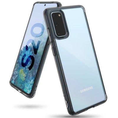 Etui RINGKE Fusion do Samsung Galaxy S20 Czarny transparentny Electro 659715