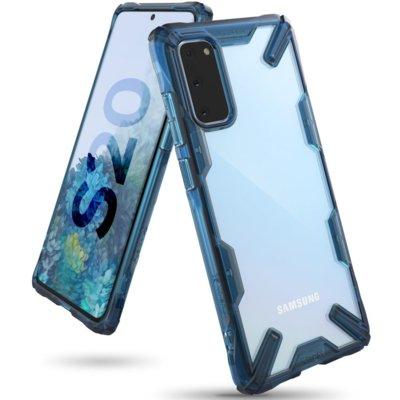 Etui RINGKE Fusion X do Samsung Galaxy S20 Niebieski Electro 679360