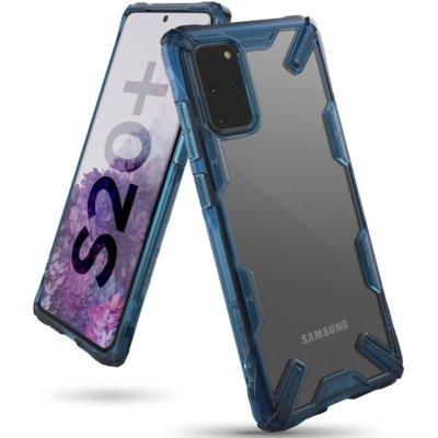 Etui RINGKE Fusion X do Samsung Galaxy S20+ Niebieski Electro 821923