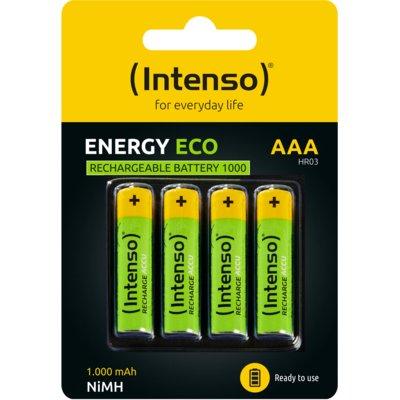Akumulatorki AAA 1000 mAh INTENSO (4 szt.) Electro 296514