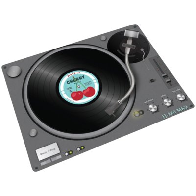 Podkładka JOSEPH JOSEPH Record Player (30 x 40 cm) Electro e1265202